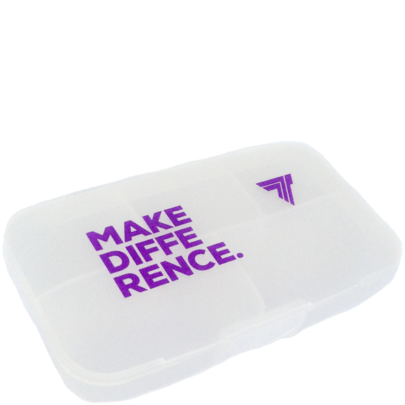 PILLBOX - MAKE DIFFERENCE - TRANSPARENT
