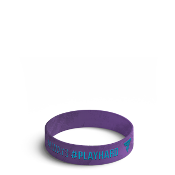 ALWAYS #PLAYHARD - WRISTBAND 009/VIOLET