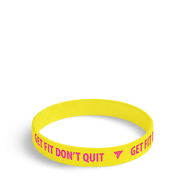 GET FIT - WRISTBAND 012/YELLOW