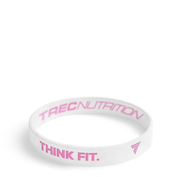 THINK FIT - WRISTBAND 017/WHITE