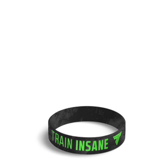TRAIN INSANE - WRISTBAND 043/BLACK
